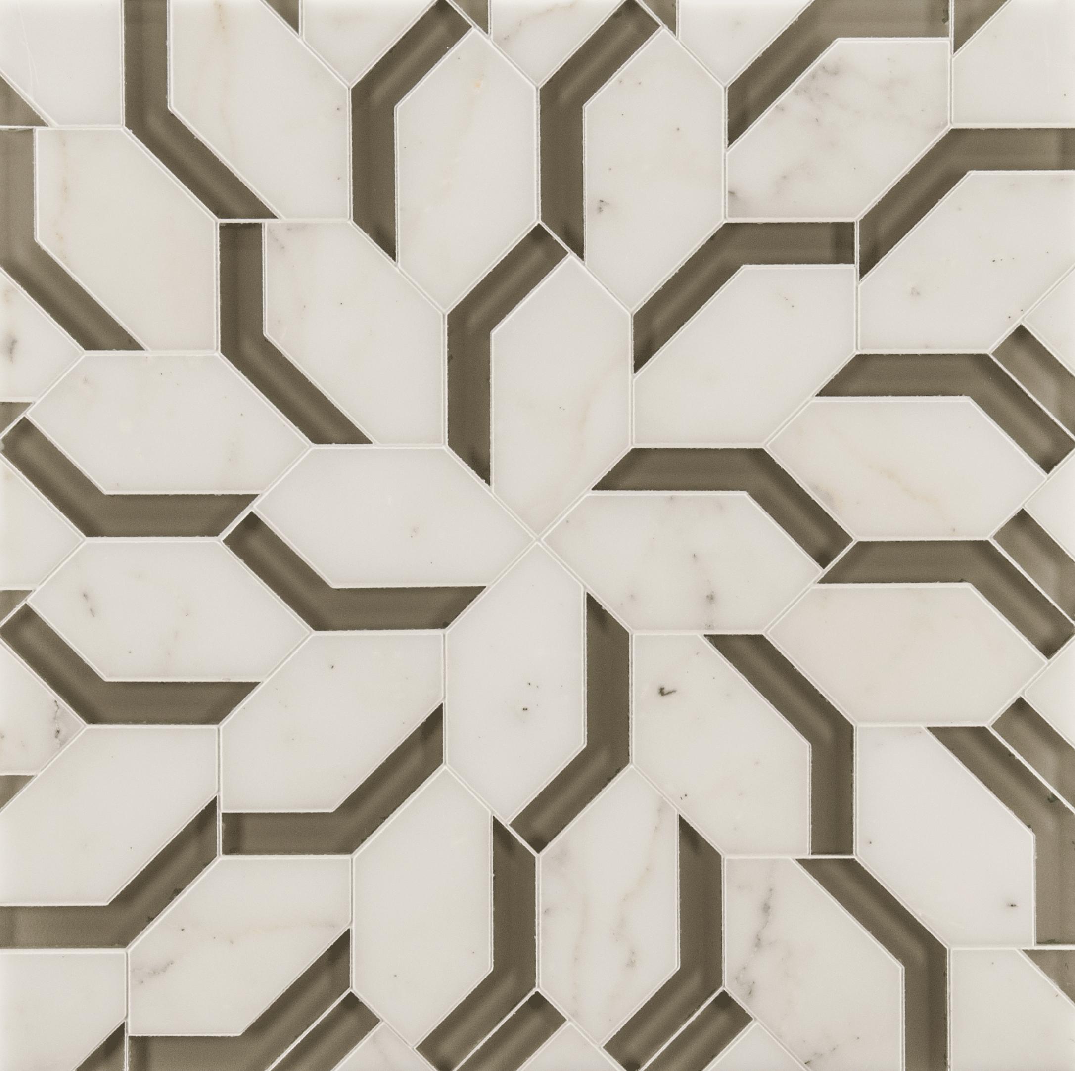 Ann Sacks Mosaic Bathroom Tile: ANN SACKS Liberty Spring Petite Mosaic In Moonstone White