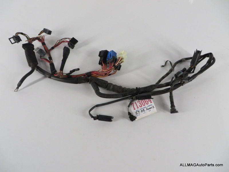 bmw m engine to transmission module o sensors wiring 2004 2006 bmw m3 engine to transmission module o2 sensors wiring harness 57 12517835524