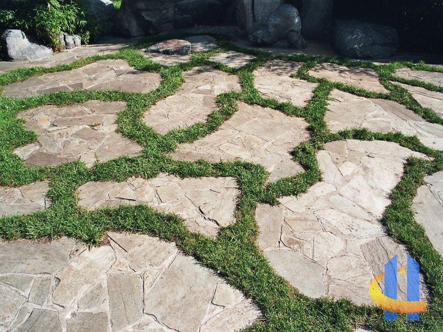 Terrassenplatten naturstein gartenideen pinterest steine garten und terrassenplatten - Naturstein terrassenplatten ...