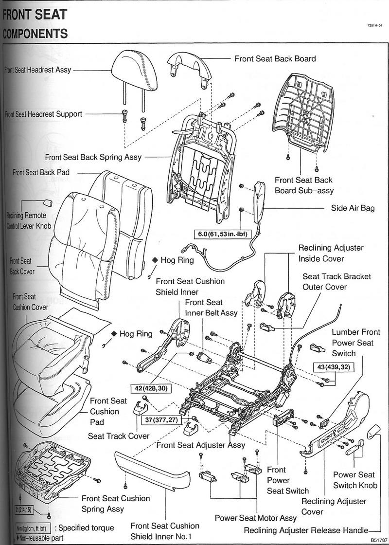 Front Seat Diagram Broken Part Clublexus Lexus Forum Discussion Diagram Lexus Overlanding