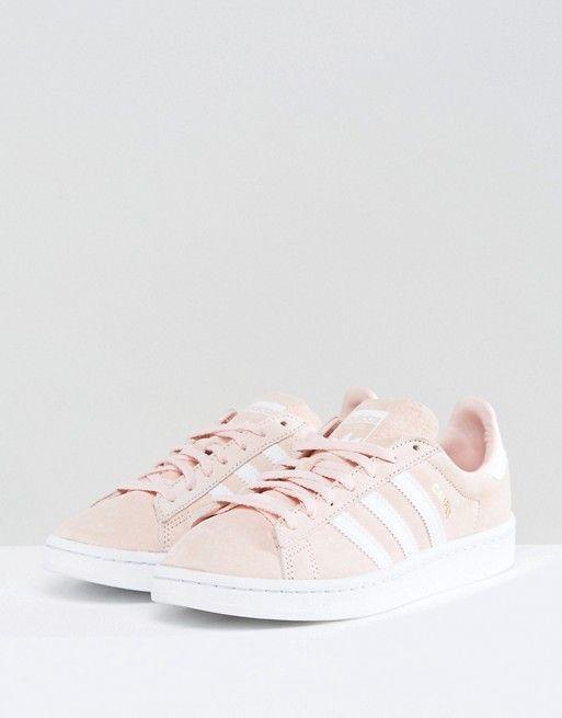 adidas Originals Campus Sneaker In Pale Pink
