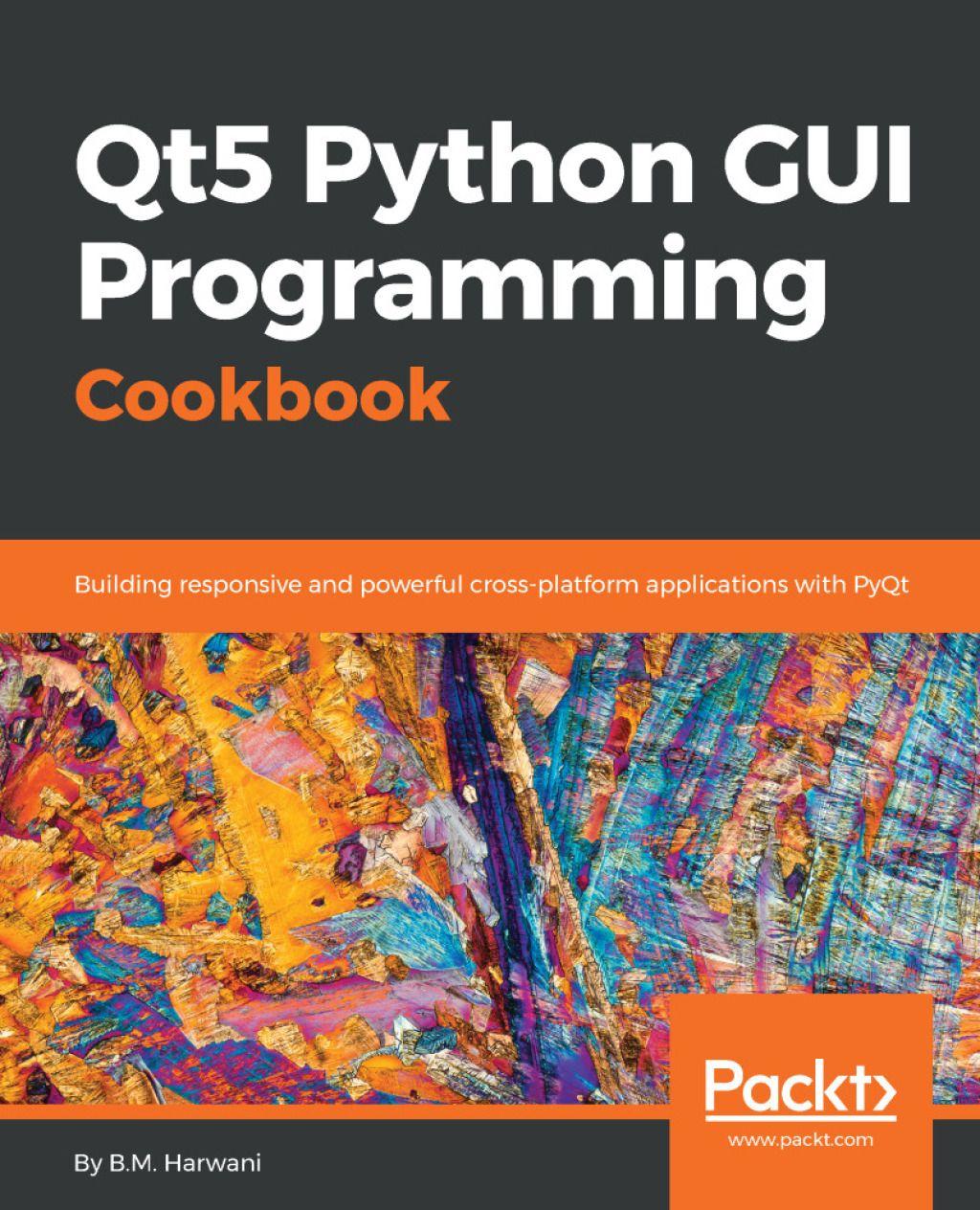 Qt5 Python Gui Programming Cookbook Ebook Python Ebook