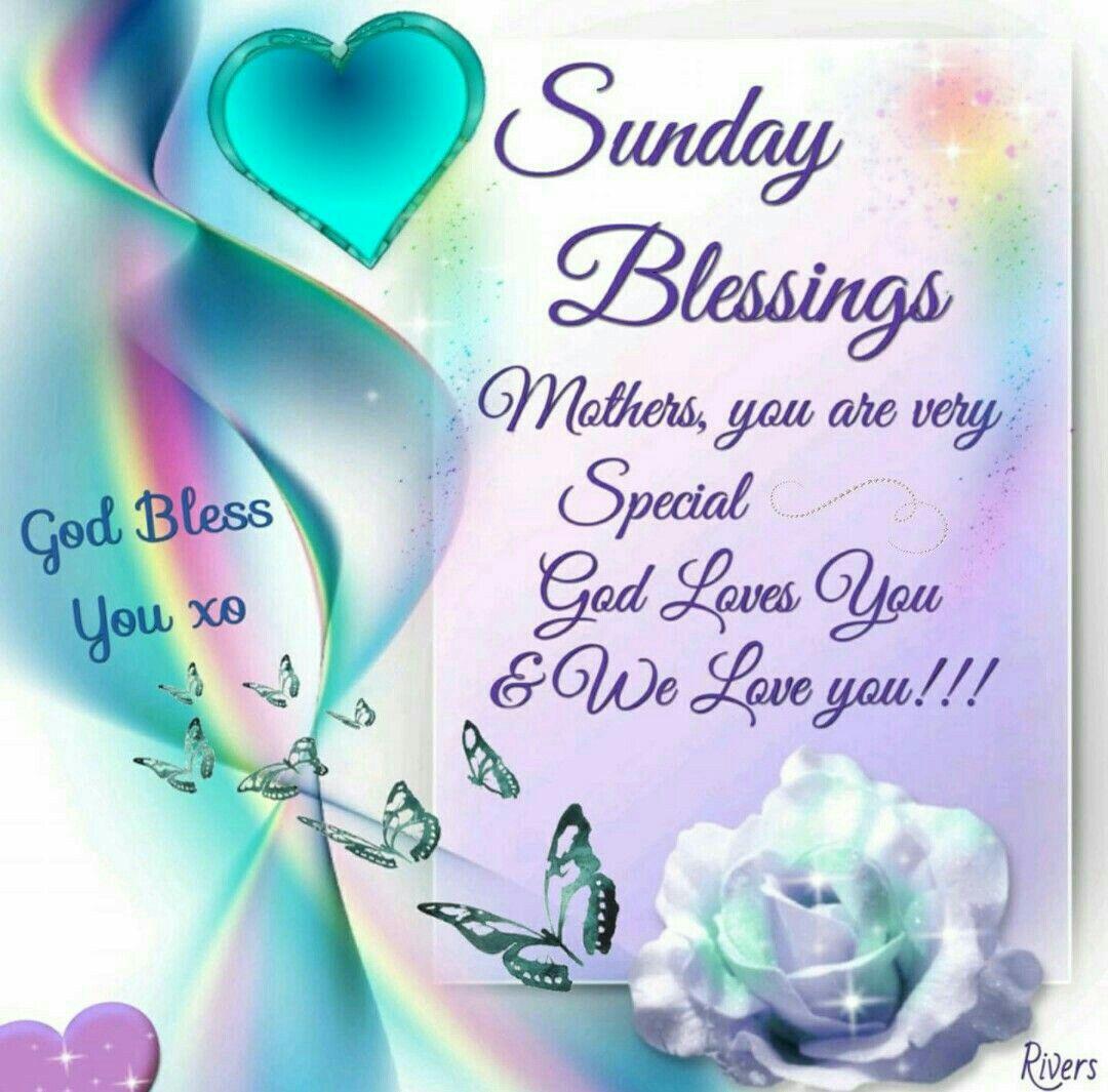 Sunday Blessings Blessings Sunday Greetings Happy Sunday
