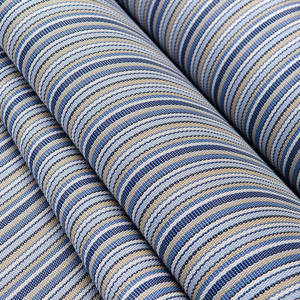 Phifertex Stripes Vinyl Mesh Delray Poolside 54 Fabric Outdoor