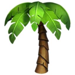 The Case For More Plantmoji In 2021 Palm Tree Emoji Flower Structure Missouri Botanical Garden