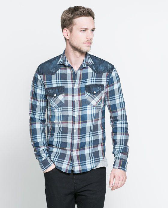Eu moda: Camisas vaqueras zara hombre