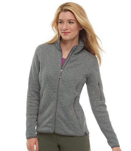 Bean's Sweater Fleece Jacket: Shirts | Free Shipping at L.L.Bean ...