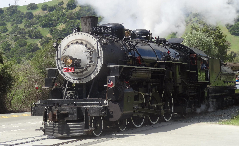 Southern Pacific 2472 & 3194 3/30/13 Dampflokomotive