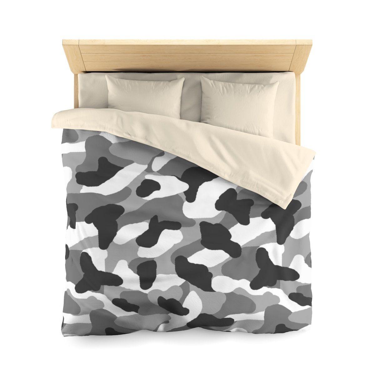 Camo Duvet Cover Gray Grey Camouflage Bedding Boys Room Decor Rustic Home Farmhouse Hunting Cabin Bedroom Comforter Blanket In 2020 Gray Duvet Cover Comfortable Bedroom Duvet Covers
