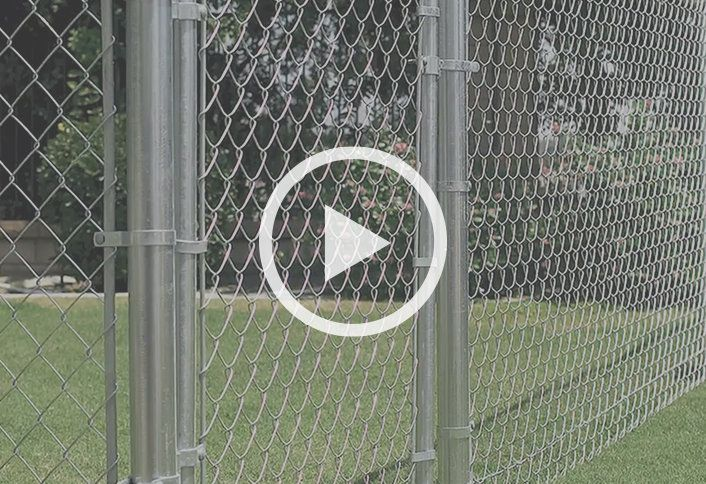 Guide To Installing A Chain Link Fence At The Home Depot Chain