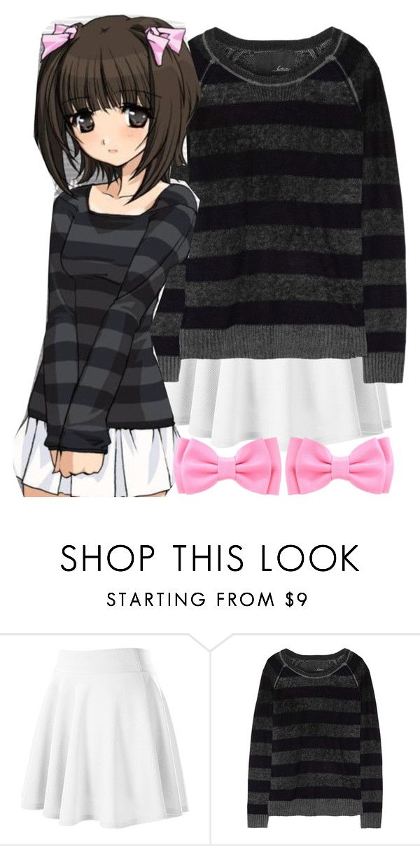 """Anime fashion//lara"" by fangirlsofeverything ❤ liked on Polyvore featuring Line, anime and fashoin"