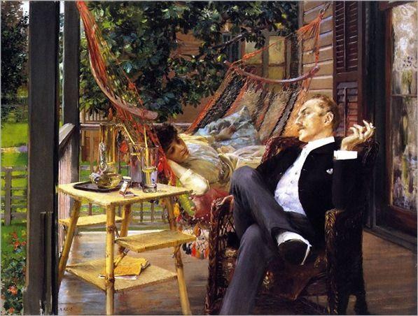 ROBERT FREDERICK BLUM @@@@.....http://www.pinterest.com/mashrie/art5-town-house-people/