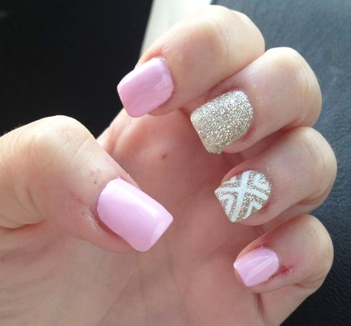 summer-nail-art-design-for-short-nails.jpg ( - Summer-nail-art-design-for-short-nails.jpg (700×650) Nail