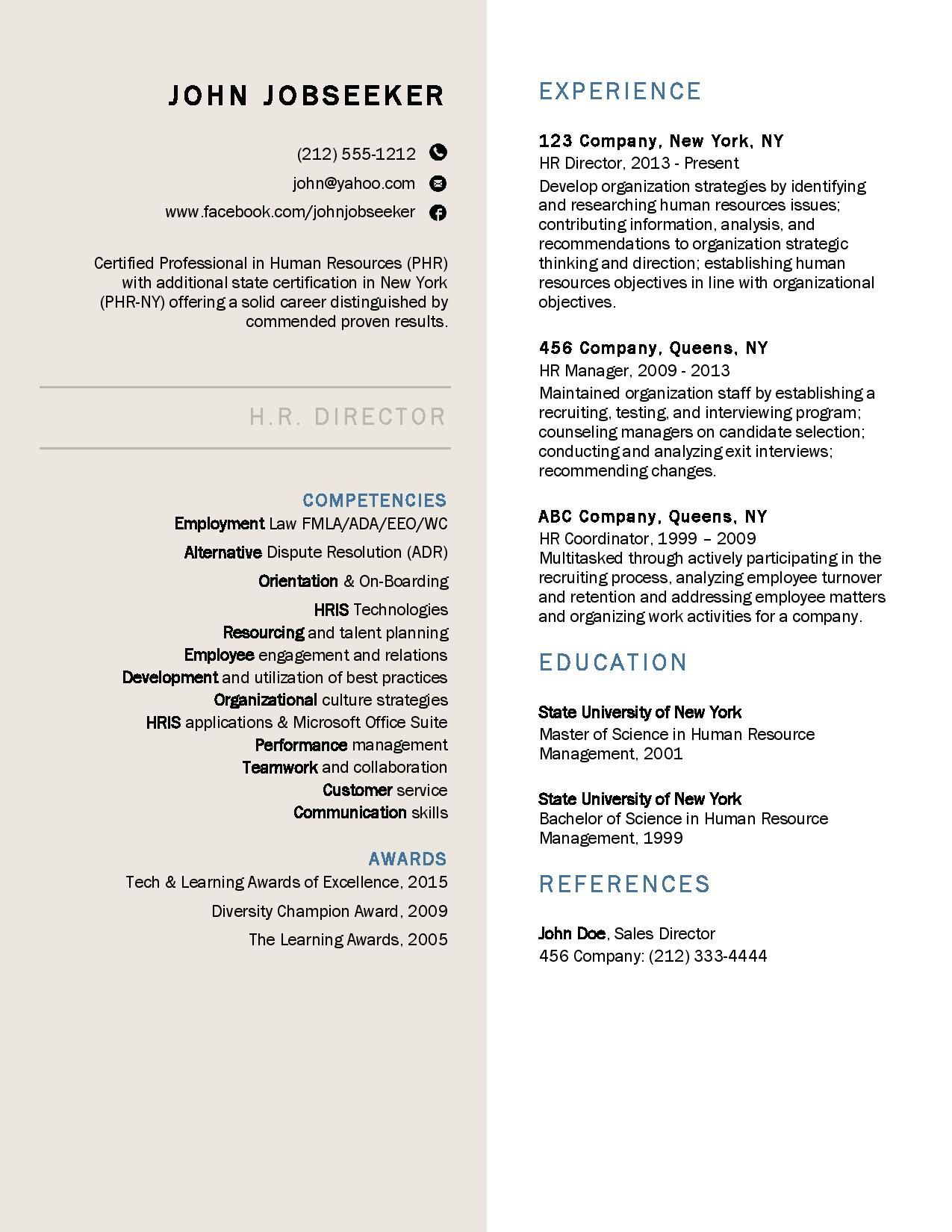 great resume examples  resume downloads  good resume
