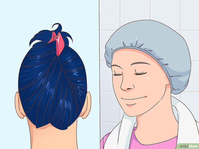 Remove Blue Or Green Hair Dye From Hair Without Bleaching Green
