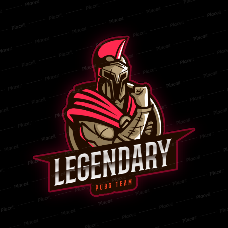 Placeit Gaming Logo Maker with a Spartan Theme in 2020