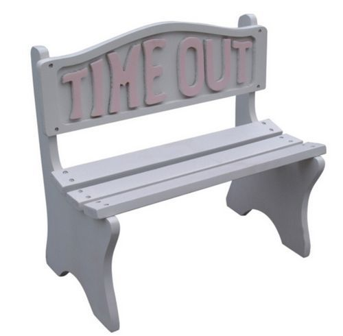 Stupendous Time Out Bench Chair Seat Kids Toddler Furniture Wood White Gmtry Best Dining Table And Chair Ideas Images Gmtryco