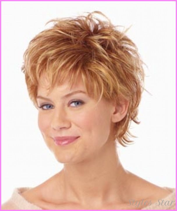 Hairstyles 2015 Short Cool Mature Hairstyles For Round Faces  Stars Style  Pinterest