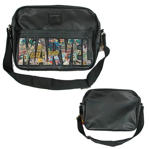 Marvel Logo Messenger Bag - BB Designs - Marvel - Messenger Bags at Entertainment Earth