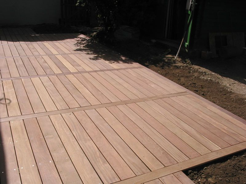 Terrasse Cumaru à Lyon Home - Deck and Patio Pinterest Decking