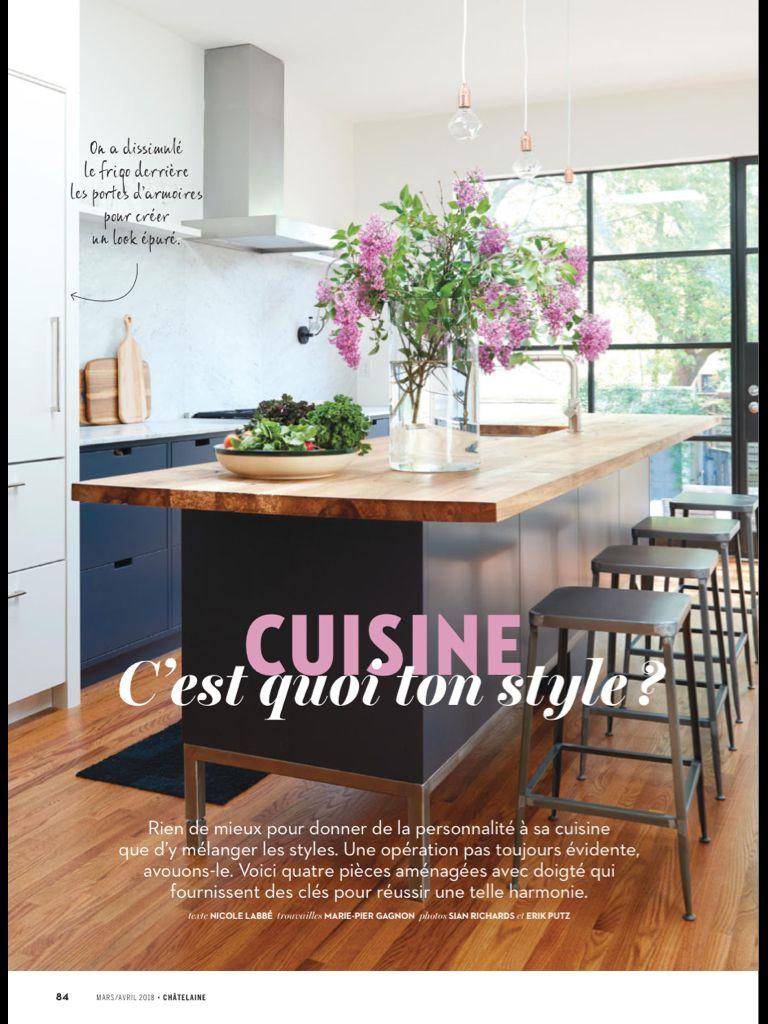 Déco cuisine : c'est quoi ton style ?» de Châtelaine (français