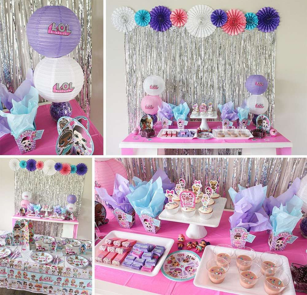 Lol surprise birthday party ideas photo 1 of 10 catch