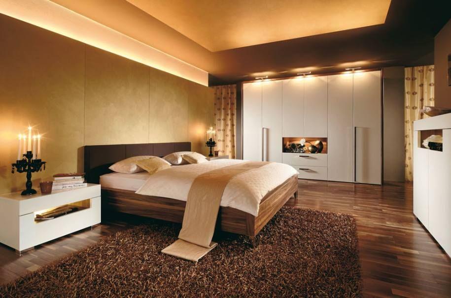 Prekársna spálňa v zlatých odtieňoch - Beautiful bedroom in shades