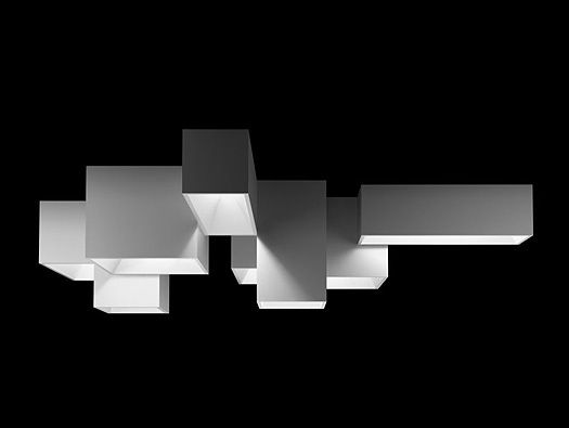 LINK LIGHT BY RAMON ESTEVE From Ramon Esteve, a modular ceiling ...:LINK LIGHT BY RAMON ESTEVE From Ramon Esteve, a modular ceiling lighting  system for Vibia,Lighting