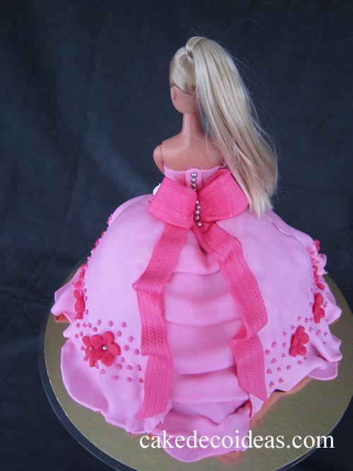 Barbie Doll Cake Cakes Cake Barbie Dolls Birthday Cake