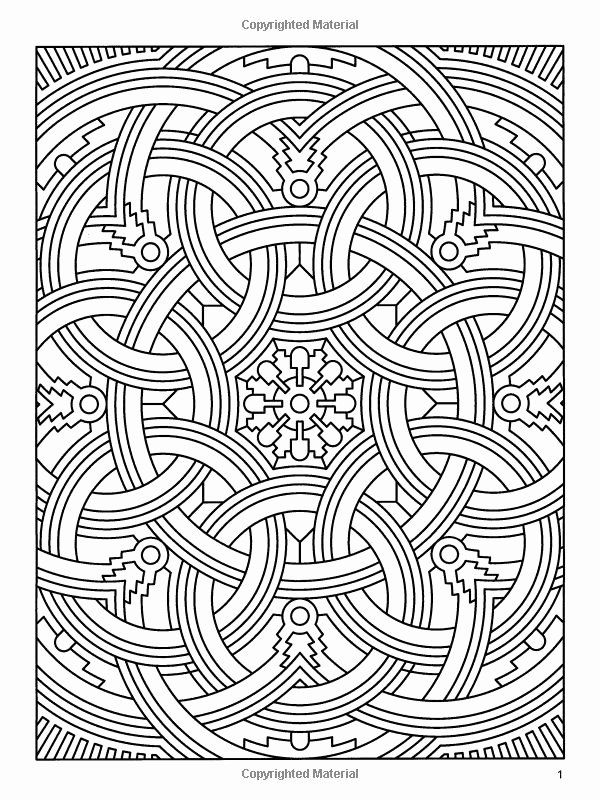 Geometric Coloring Books Awesome Difficult Geometric Design Coloring Pages  Geometric Coloring Pages, Designs Coloring Books, Coloring Books