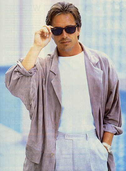 Miami Vice fashion | Vintage Fashion | Miami vice, 80er