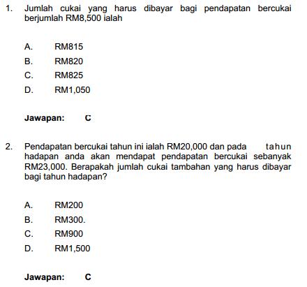 Contoh Soalan Ptd M41 Format Peperiksaan Online Multees In 2020 Exam Education Daya