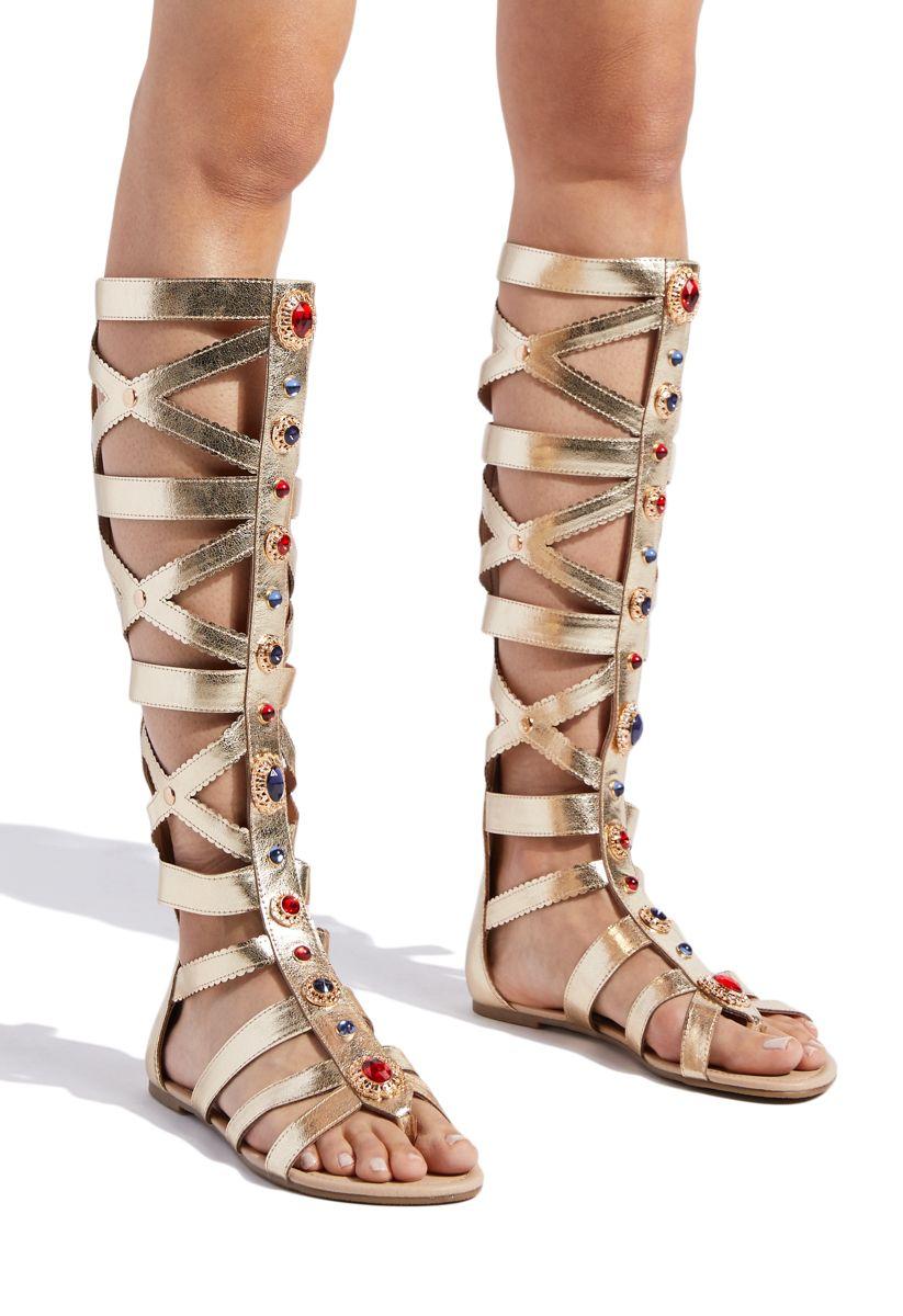 9f691fa61481 POPPY JEWELED GLADIATOR SANDAL - ShoeDazzle