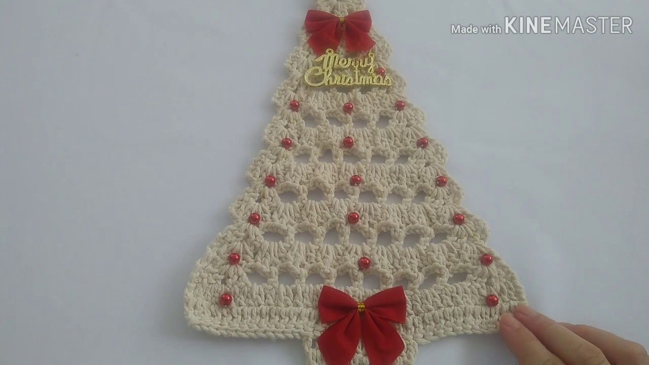 Arvore De Natal Croche Facil Youtube Arvores De Natal De