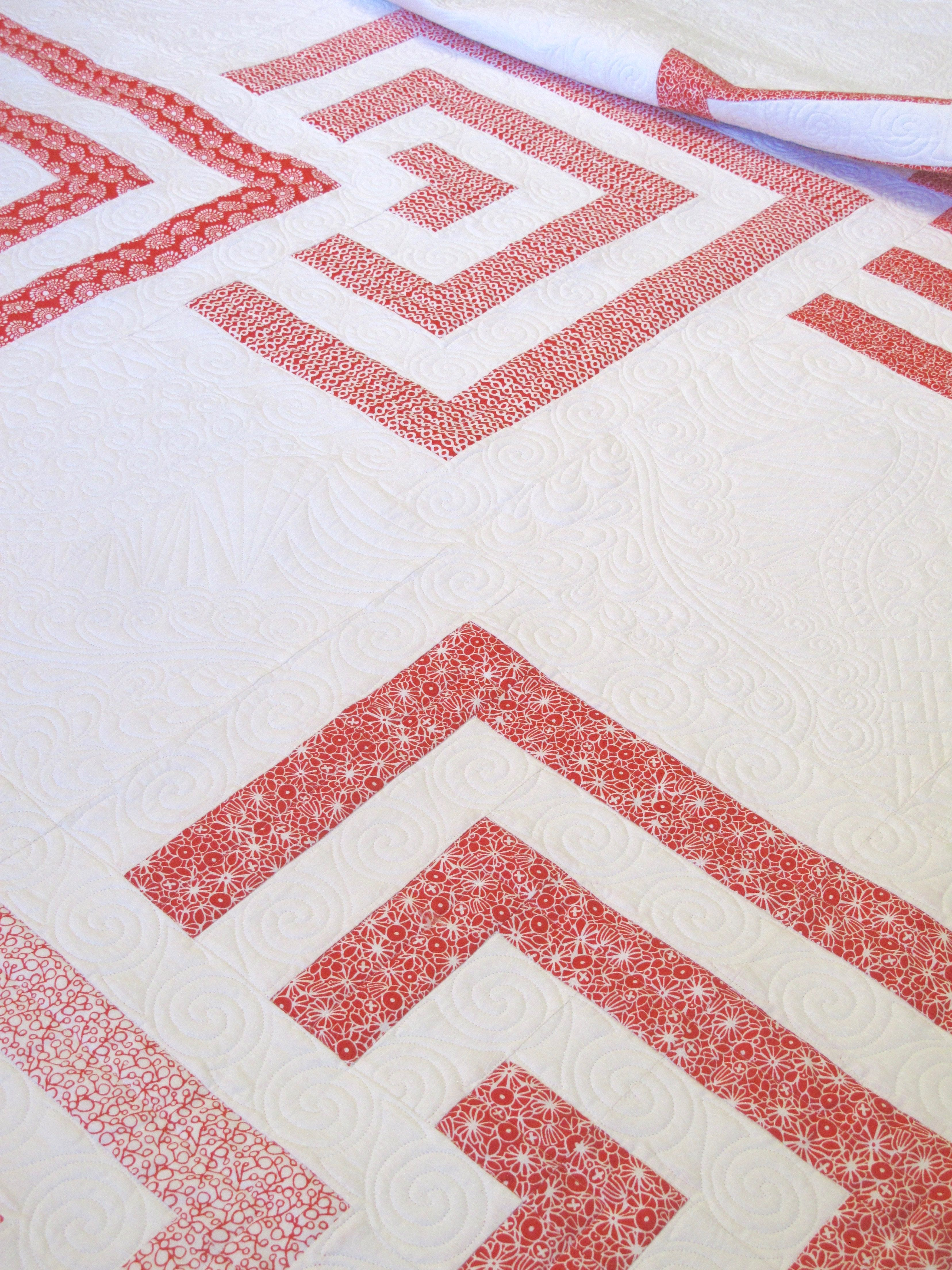 Our new Red Urban Scandinavian Quilt Kit. Our complete kit ... : complete quilt kits - Adamdwight.com