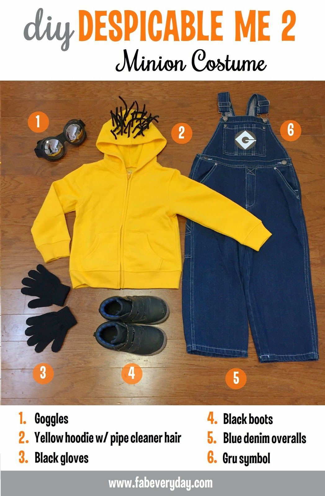 DIY Despicable Me 2 Halloween Costumes  sc 1 st  Pinterest & DIY Despicable Me 2 Halloween Costumes | Google Costumes and ...