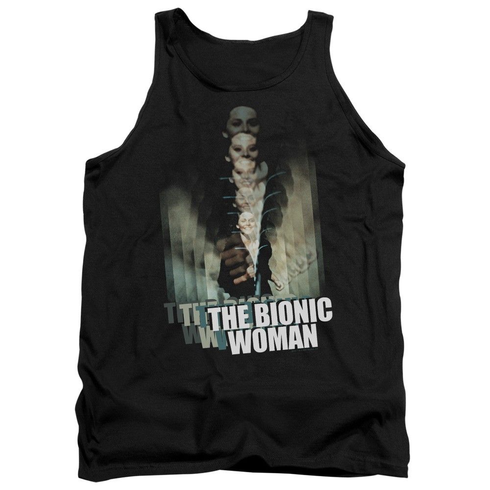 """Checkout our #LicensedGear products FREE SHIPPING + 10% OFF Coupon Code """"Official"""" Bionic Woman / Motion Blur - Adult Tank - Bionic Woman / Motion Blur - Adult Tank - Price: $29.99. Buy now at https://officiallylicensedgear.com/bionic-woman-motion-blur-adult-tank"""