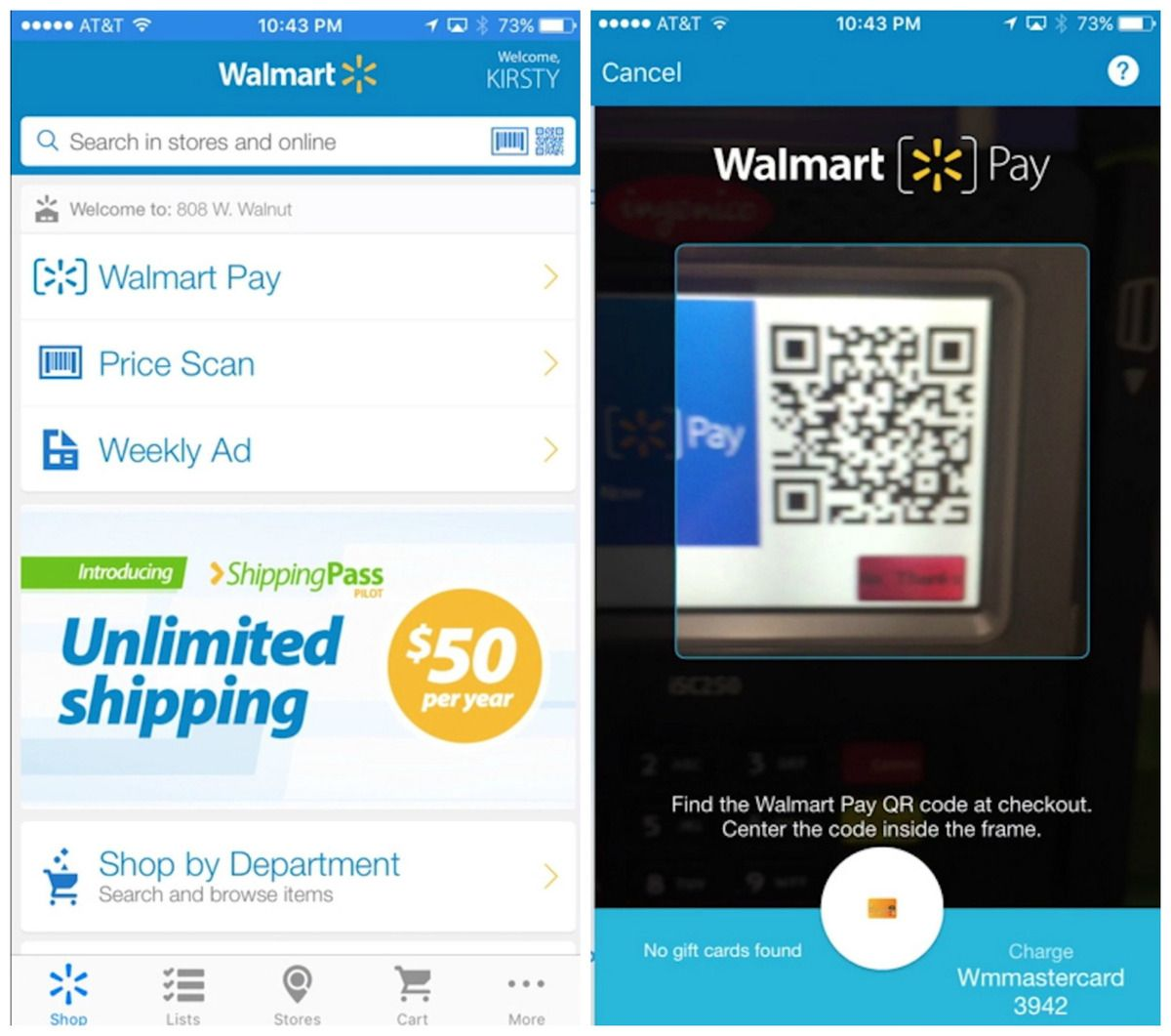 Walmart's Apple Pay competitor uses QR codes | Technology over Time