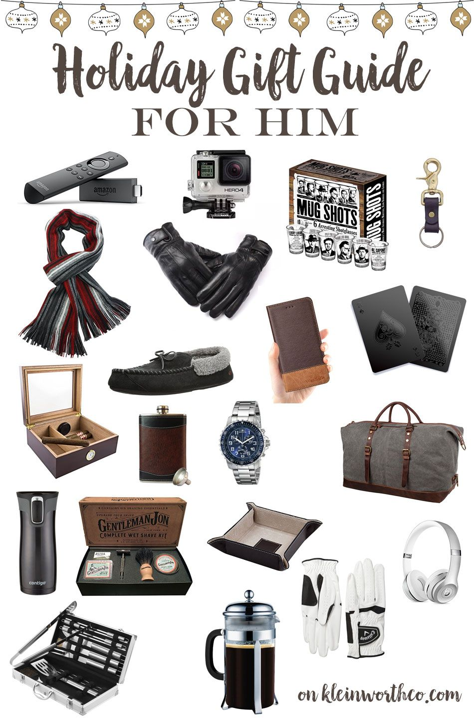 Doing holiday shopping for the men on your list? This Holiday Gift ...