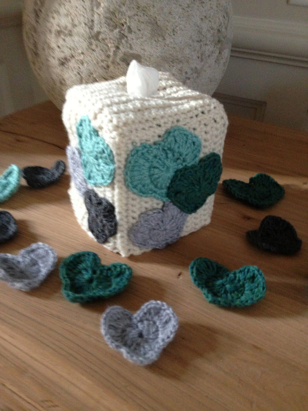 Annoo\'s Crochet World: Heart Tissue Box Cover Free Pattern | Crochet ...