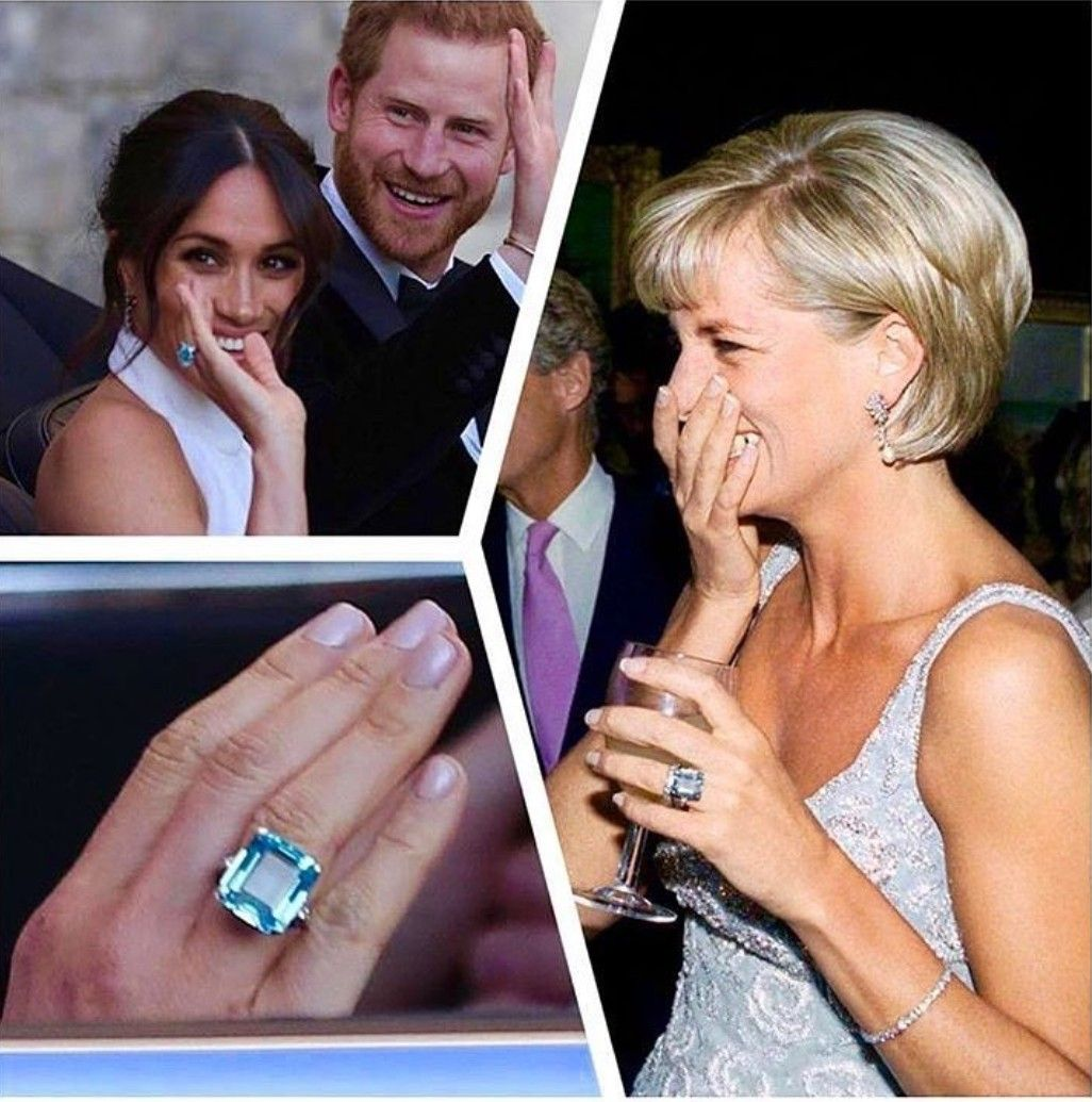 Meghan Markle Pays Touching Tribute To Princess Diana By