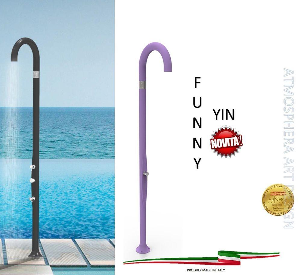 Doccia FUNNY YIN con miscelatore da giardino piscina e