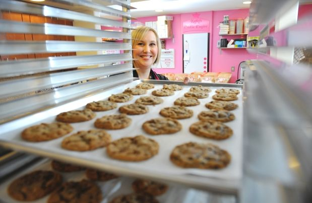 Kathy Leskow expects to sell 150,000 cookies this year, all baked in her home-based commercial kitchen.