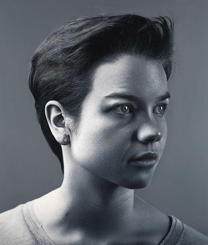 Portrait Paintings by Charles Bierk | Art | Pinterest ...