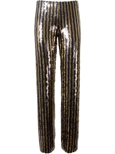 MARC JACOBS Striped Sequin Trouser