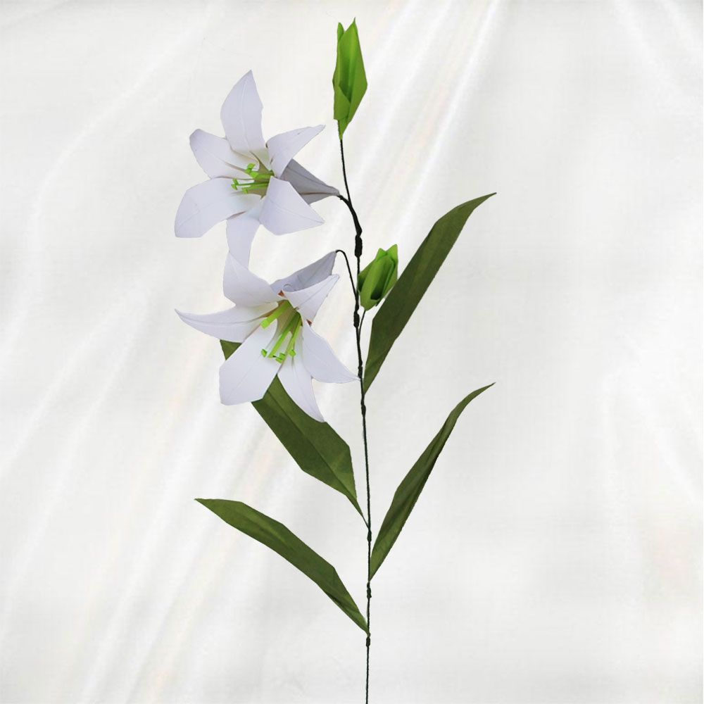 Origami easter lily strand origamipaper pinterest origami origami easter lily strand negle Choice Image