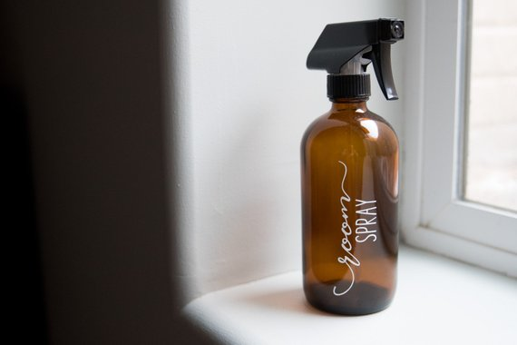 room spray bottle glass amber glass bottles with labels spray rh in pinterest com