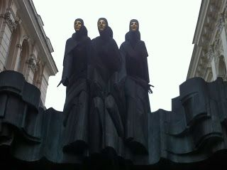 Interesting Street Art and Statues in Vilnius, Lithuania