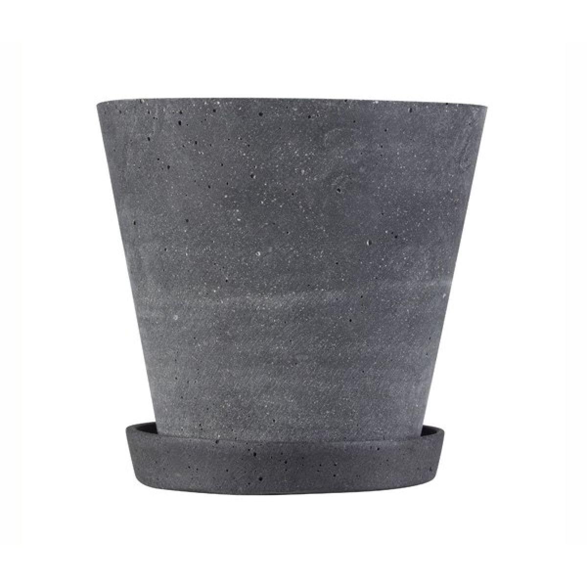 grå urtepotteskjuler