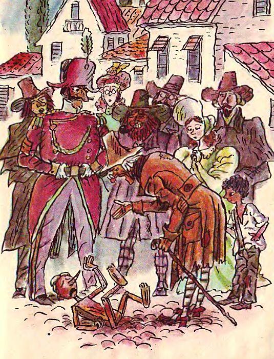 Ilustraciones Fabulous: Fairy Tales - Las aventuras de Pinocho / Pinocho